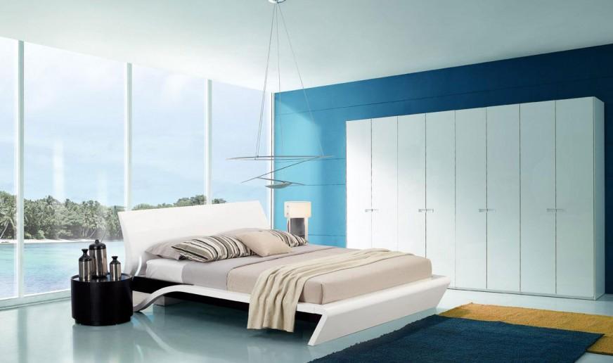 ตกแต่งห้องนอนสีขาวอย่างไรให้ดูเป็นระเบียบและเรียบหรู