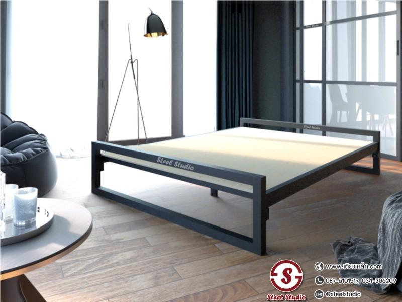 เตียงเหล็กเบสิก