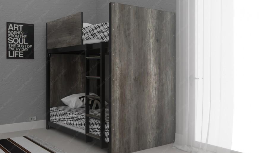 เตียงสองชั้นไม้ลอฟท์