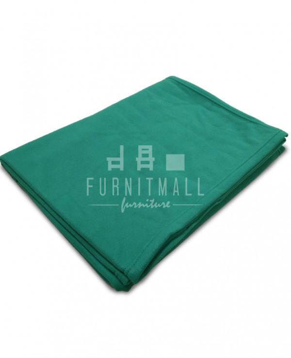 ผ้าห่มฟลีซเขียว