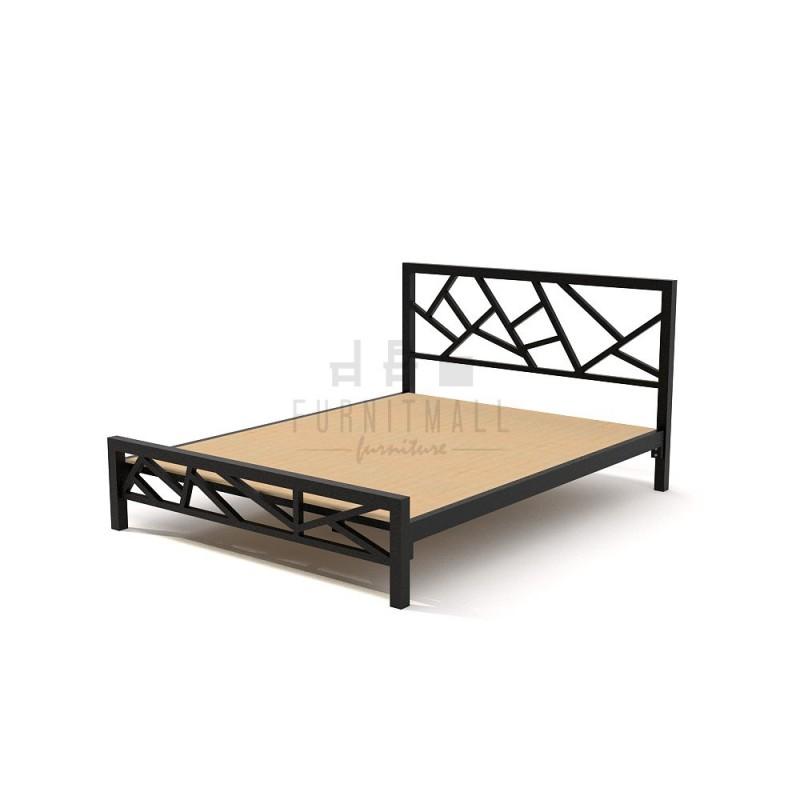 เตียงเหล็ก ลายกิ่งไม้