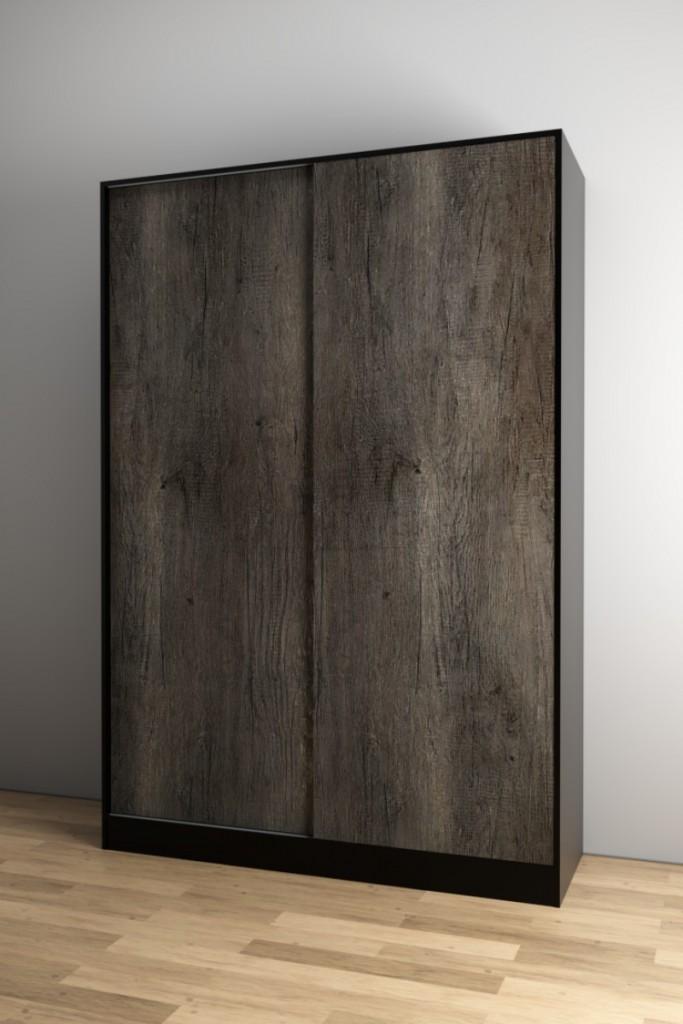 ตู้เสื้อผ้าบานสไลด์ Loft Olive Series